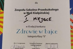 Wiewiórki-dyplom